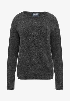 Strickpullover - dark grey