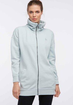 Zip-up hoodie - smoke mint