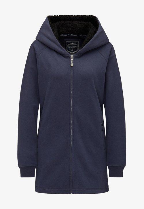 sprzedaż Dreimaster Bluza rozpinana - marine Odzież Damska MJGK-IM2