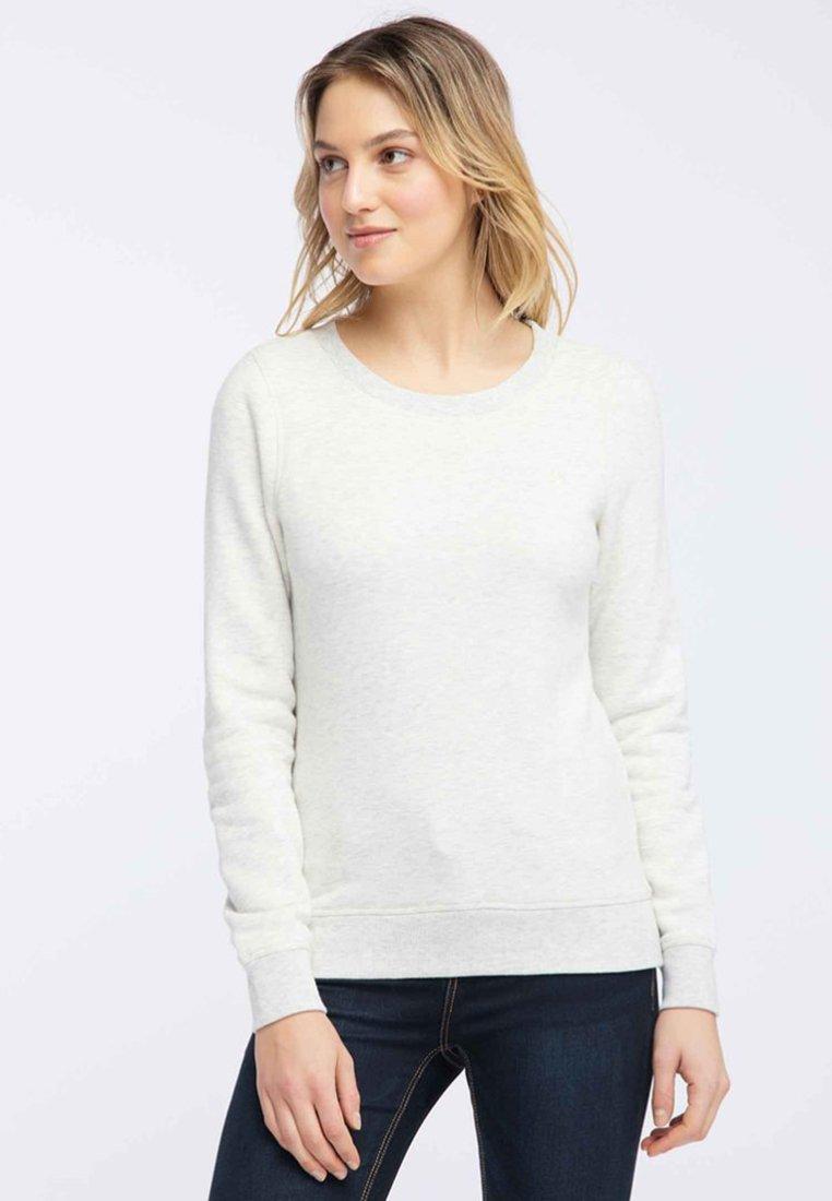 Dreimaster - Sweatshirt - white melange