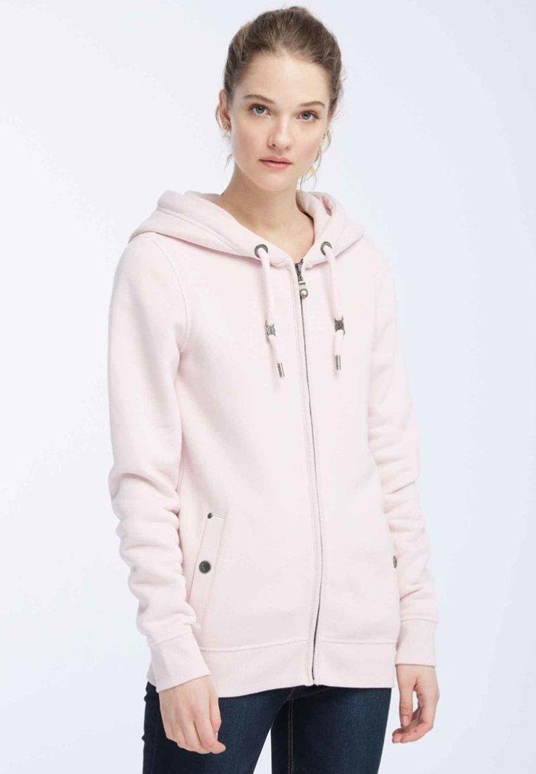 Dreimaster - Zip-up hoodie - pink