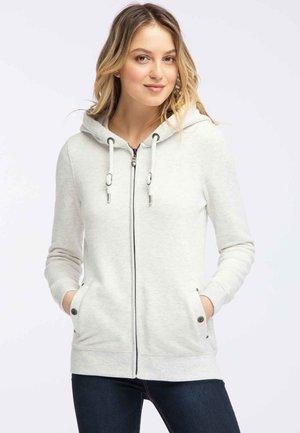 Felpa aperta - wool white melange