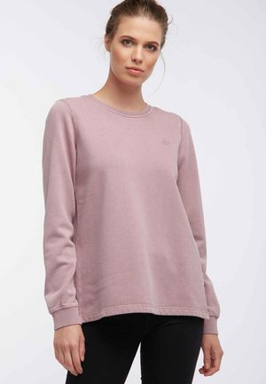 Sweatshirt - dark pink