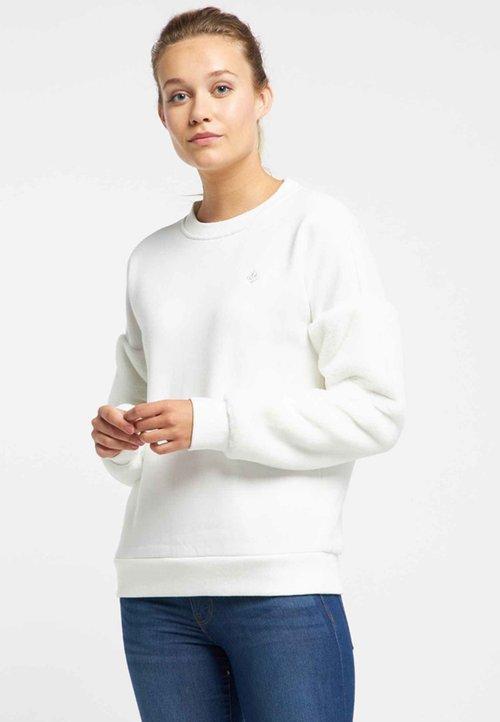 Dreimaster Bluza - white Odzież Damska HUQB-CR4 sprzedaż