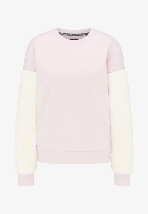 Dreimaster Bluza - powder pink Odzież Damska GIMH-WD6 szyk