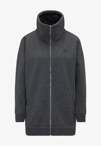DreiMaster - SWEATJACKE - Zip-up hoodie - grau melange - 4