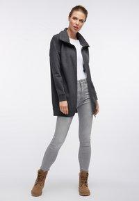 DreiMaster - SWEATJACKE - Zip-up hoodie - grau melange - 1