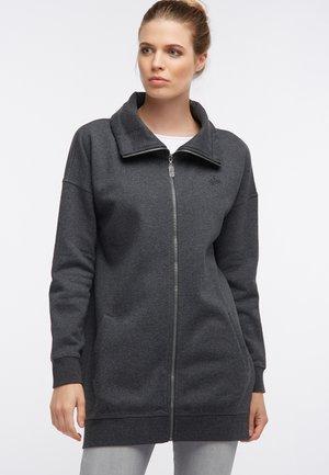 SWEATJACKE - Zip-up hoodie - grau melange