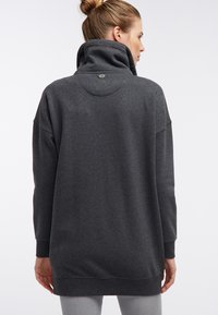 DreiMaster - SWEATJACKE - Zip-up hoodie - grau melange - 2