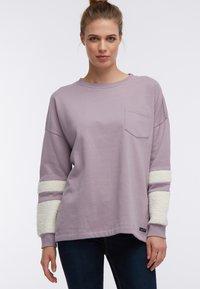 DreiMaster - Sweatshirt - dunkelrosa - 0