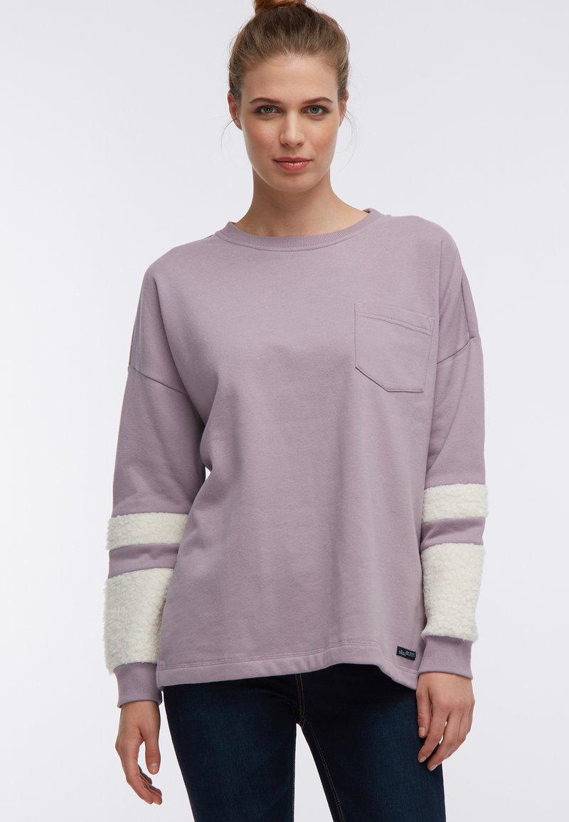 DreiMaster - Sweatshirt - dunkelrosa