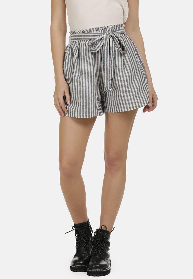 Shorts - marine weiss