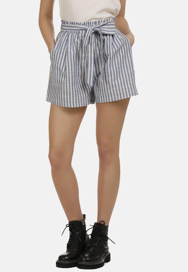 Shorts - blau weiss