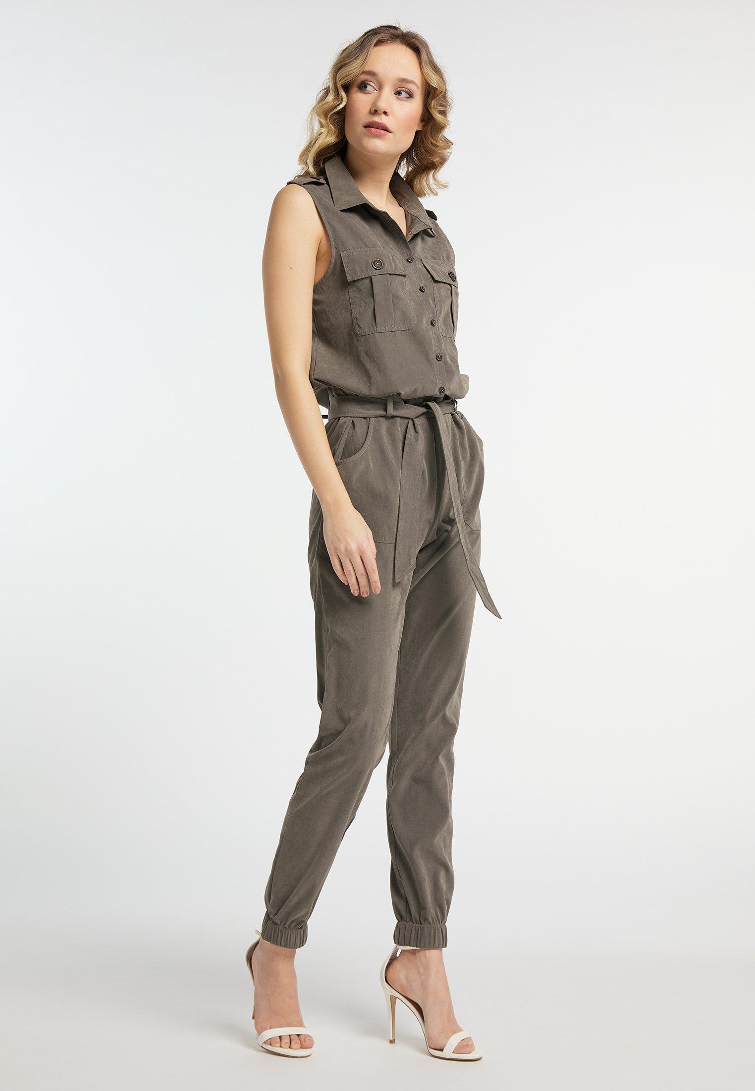 Dreimaster Overall / Jumpsuit - Dark Gray
