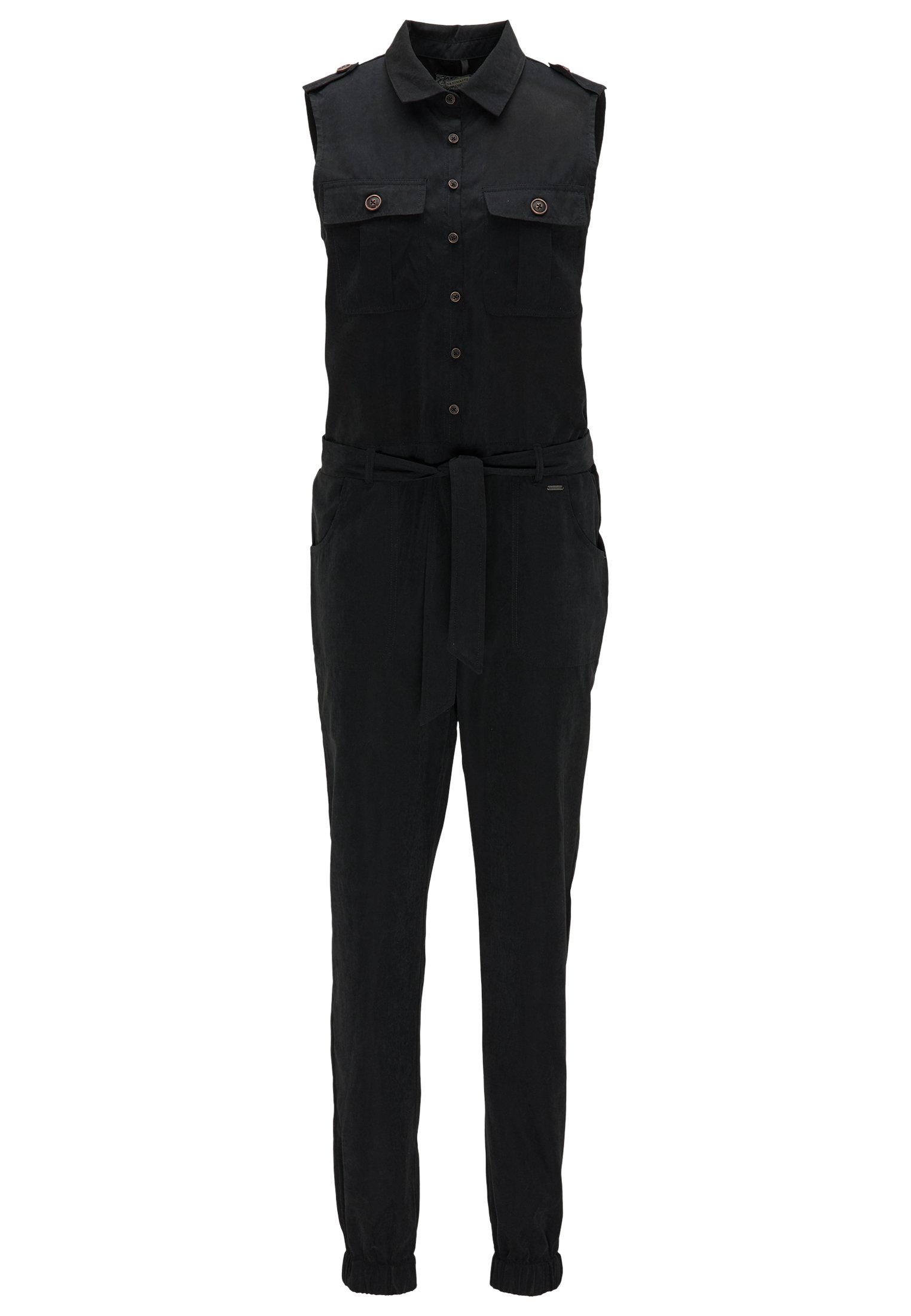 Dreimaster Jumpsuit - Black