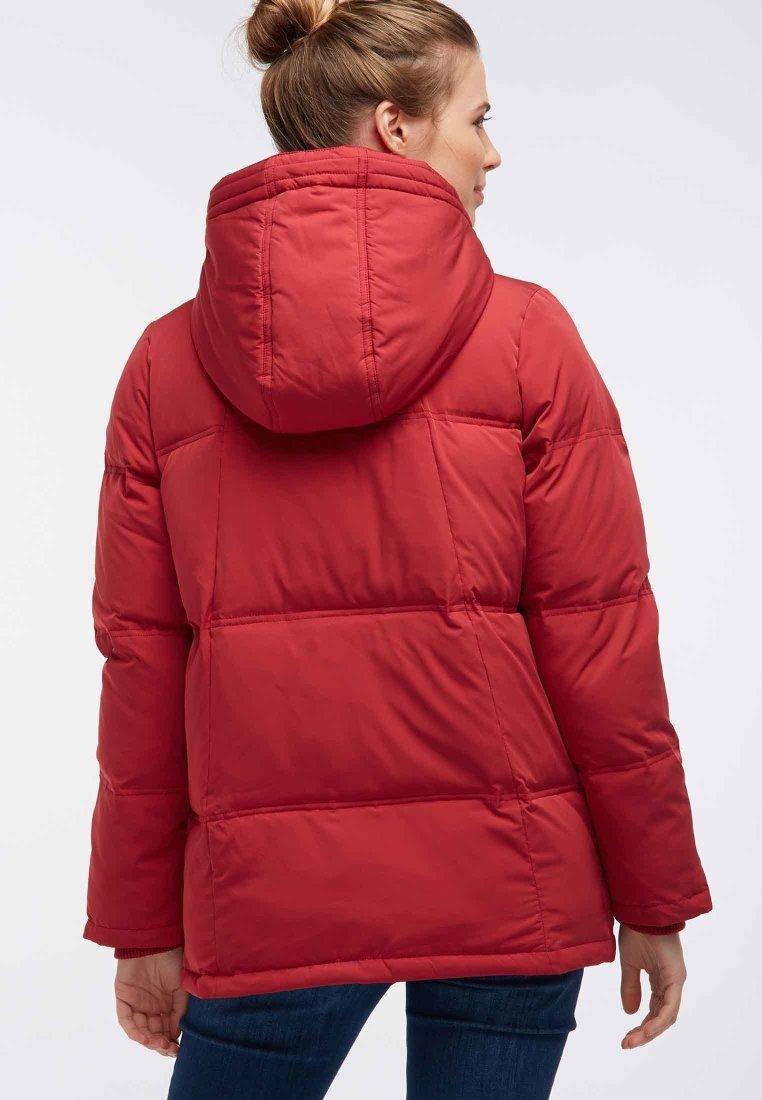 Superdry LUXE CHEVRON FUJI Veste d'hiver red ZALANDO.FR