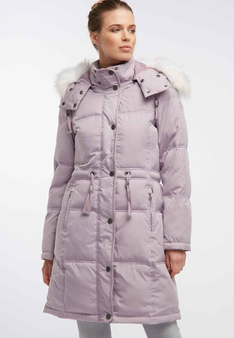 Dreimaster - MANTEL - Winter coat - rose