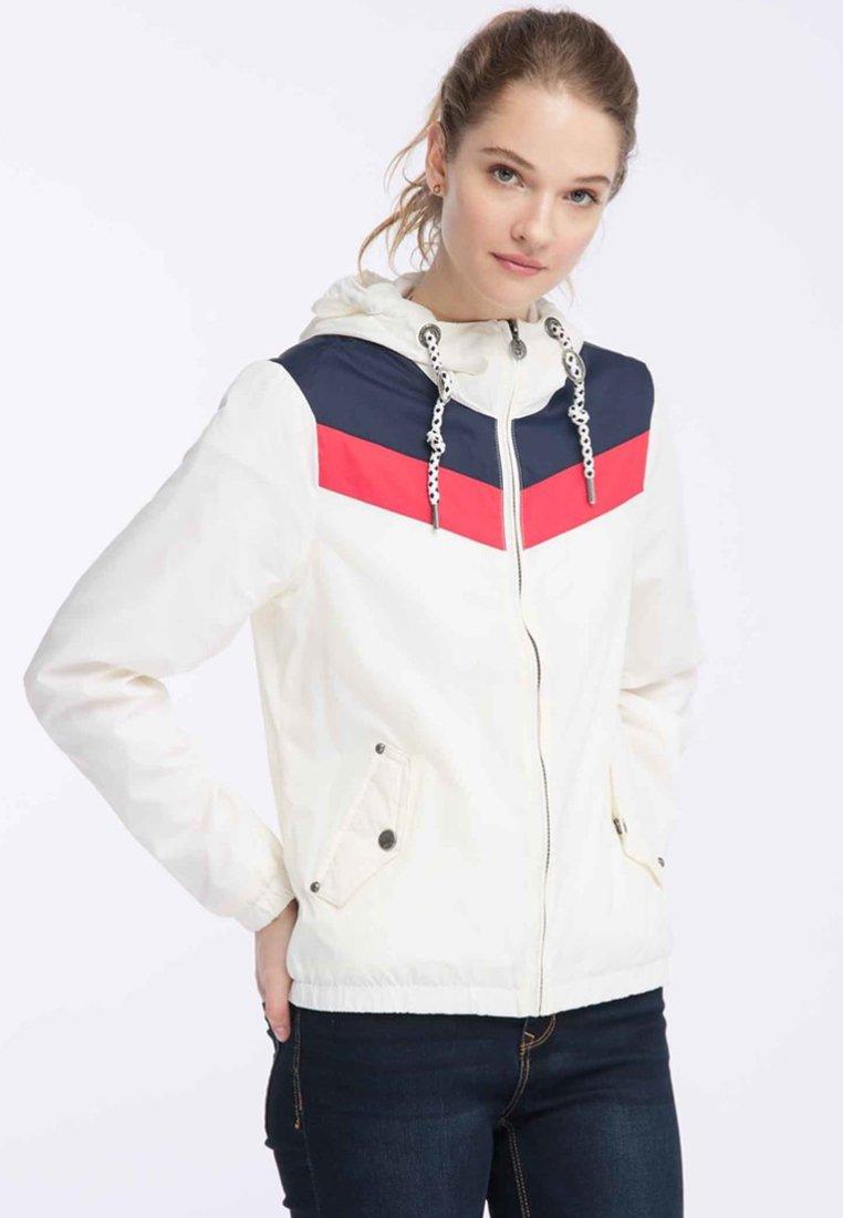 Dreimaster - DREIMASTER  - Outdoor jacket - white