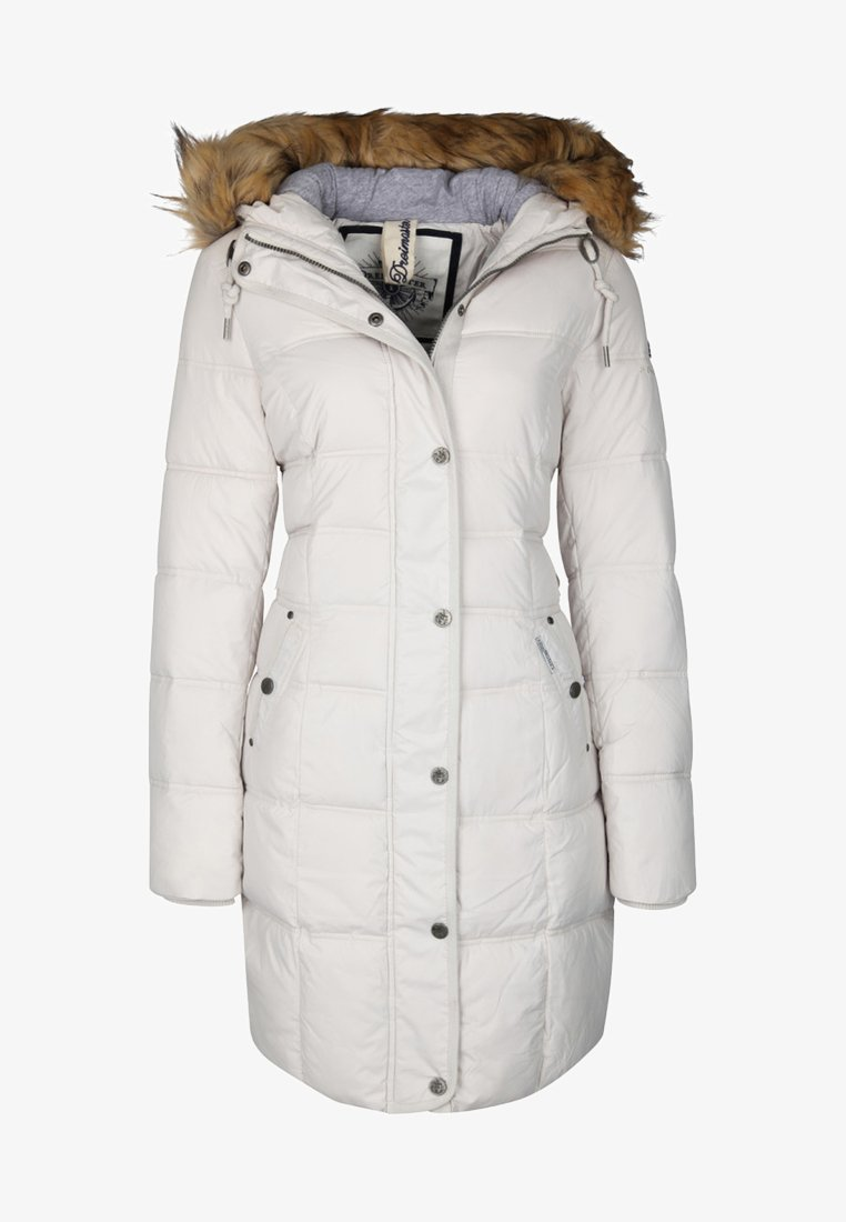 Dreimaster - Winter coat - white