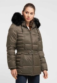 DreiMaster - Wintermantel - military olive - 0