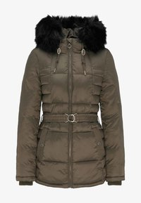 DreiMaster - Wintermantel - military olive - 4
