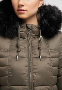 DreiMaster - Wintermantel - military olive - 3