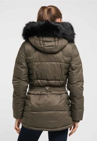 DreiMaster - Wintermantel - military olive - 2