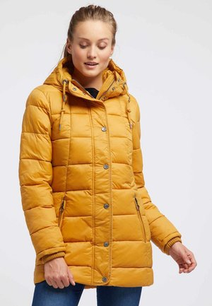 Winter coat - yellow