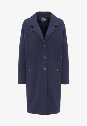 Płaszcz wełniany /Płaszcz klasyczny - marine