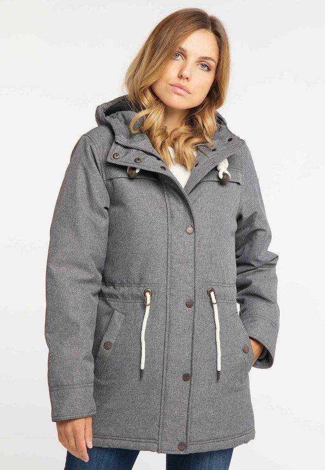 Abrigo de invierno - grey melange
