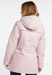 DreiMaster - Cappotto invernale - rosa melange - 2