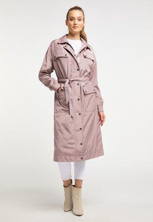 Wollmantel/klassischer Mantel - nude