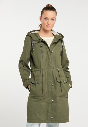 Parkatakki - military green