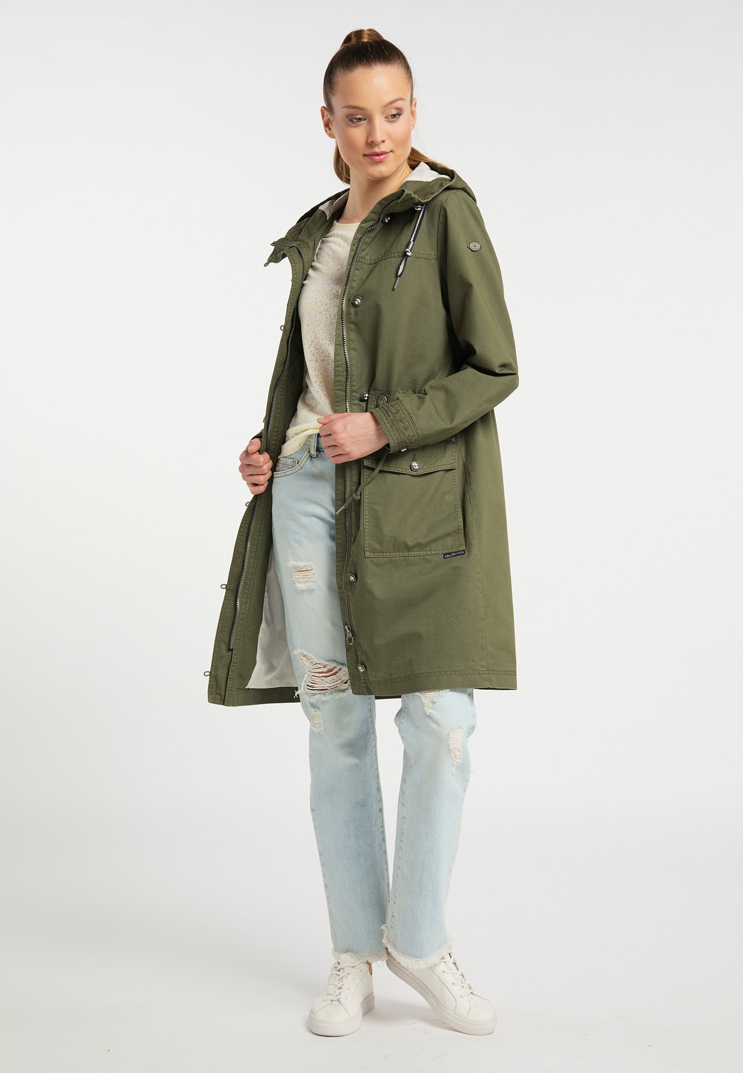 Dreimaster Parka - Military Green