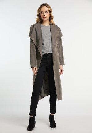 Mantel - dark gray