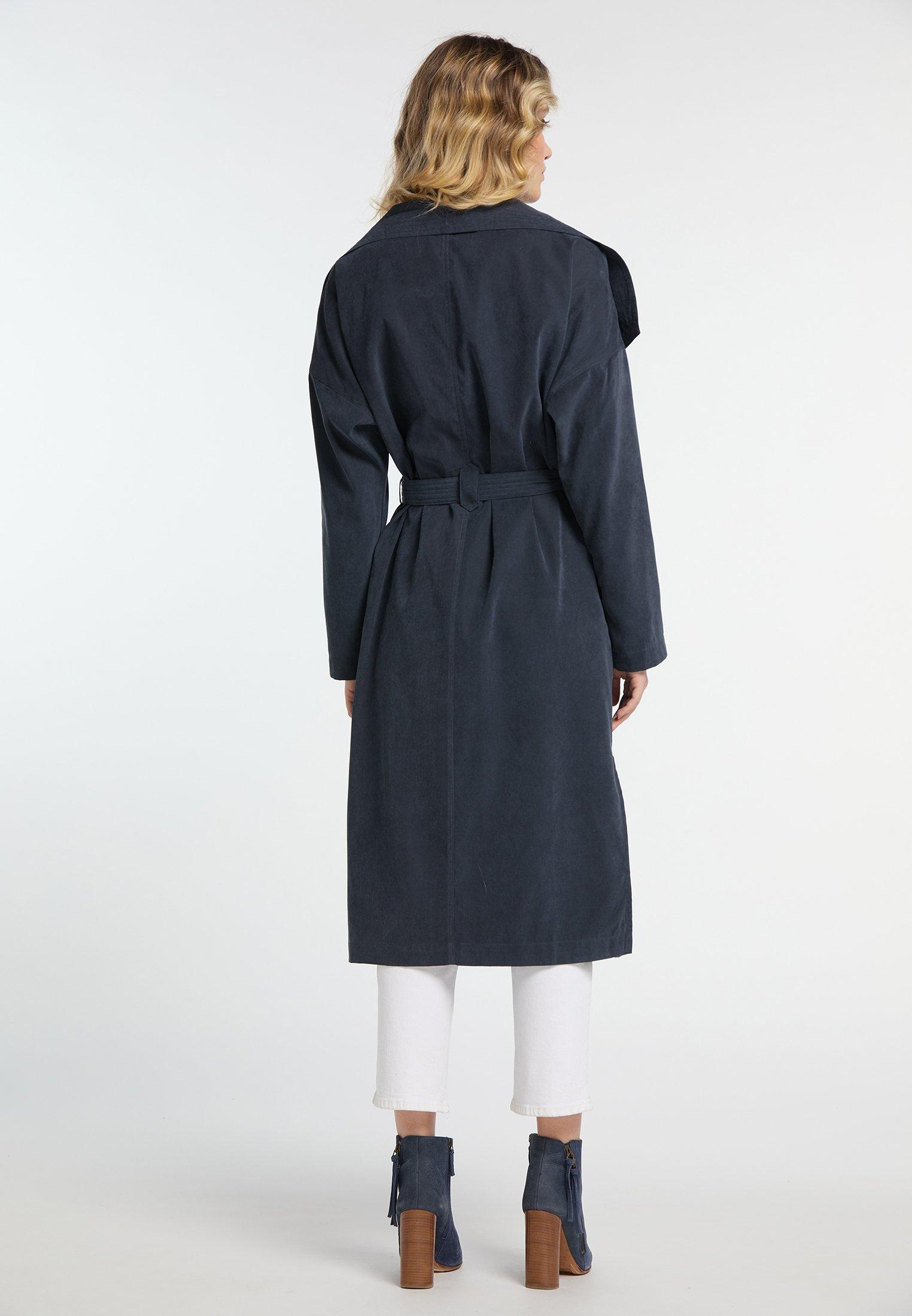 DreiMaster Płaszcz wełniany /Płaszcz klasyczny - marine