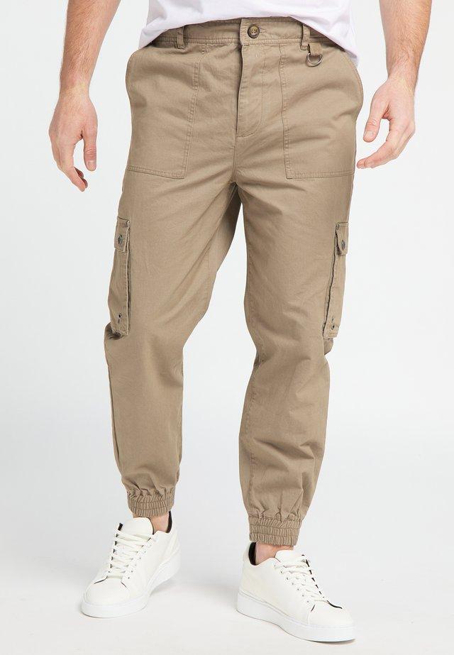 Pantalones cargo - mud