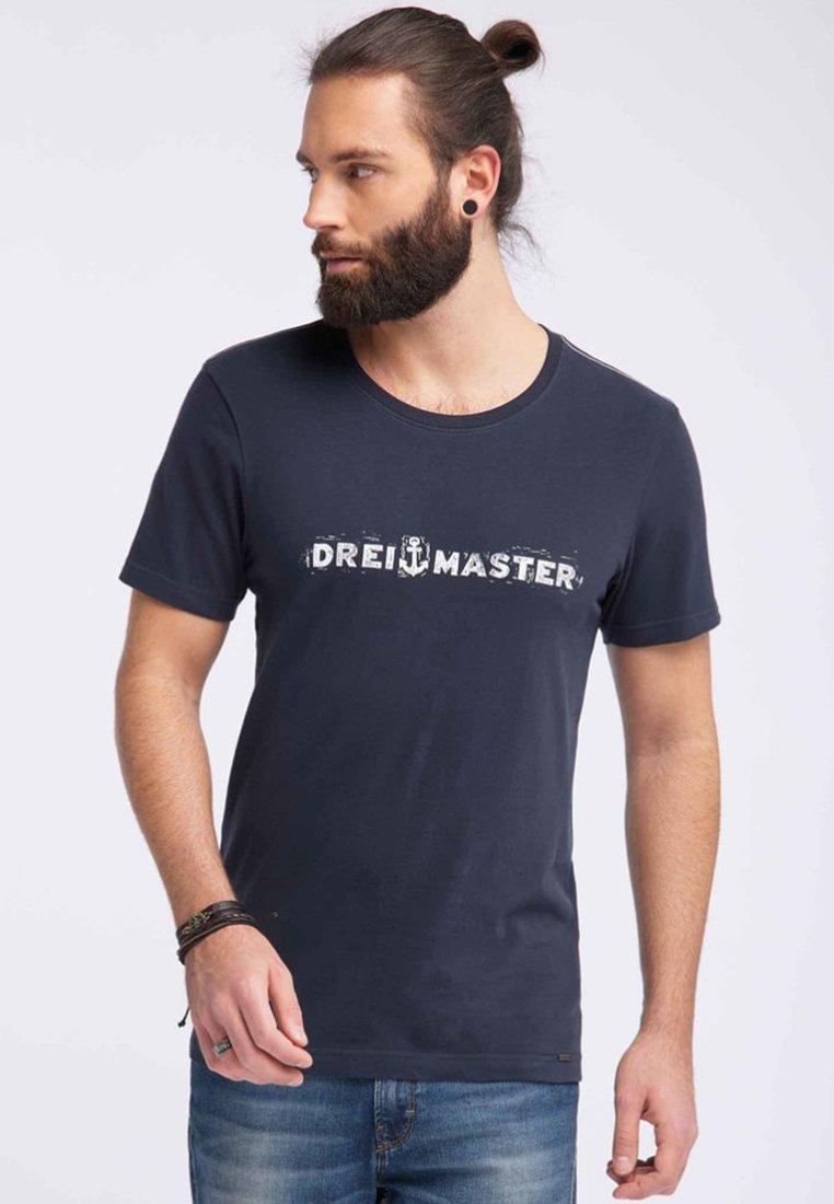 Dreimaster - T-shirt print - marine