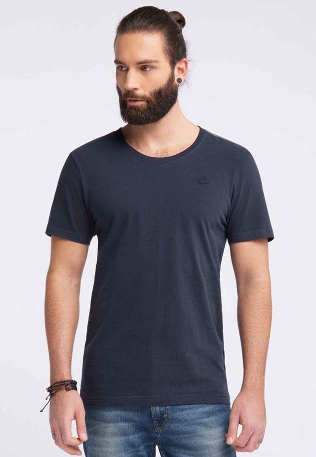 DREIMASTER  - T-shirt basic - dark blue