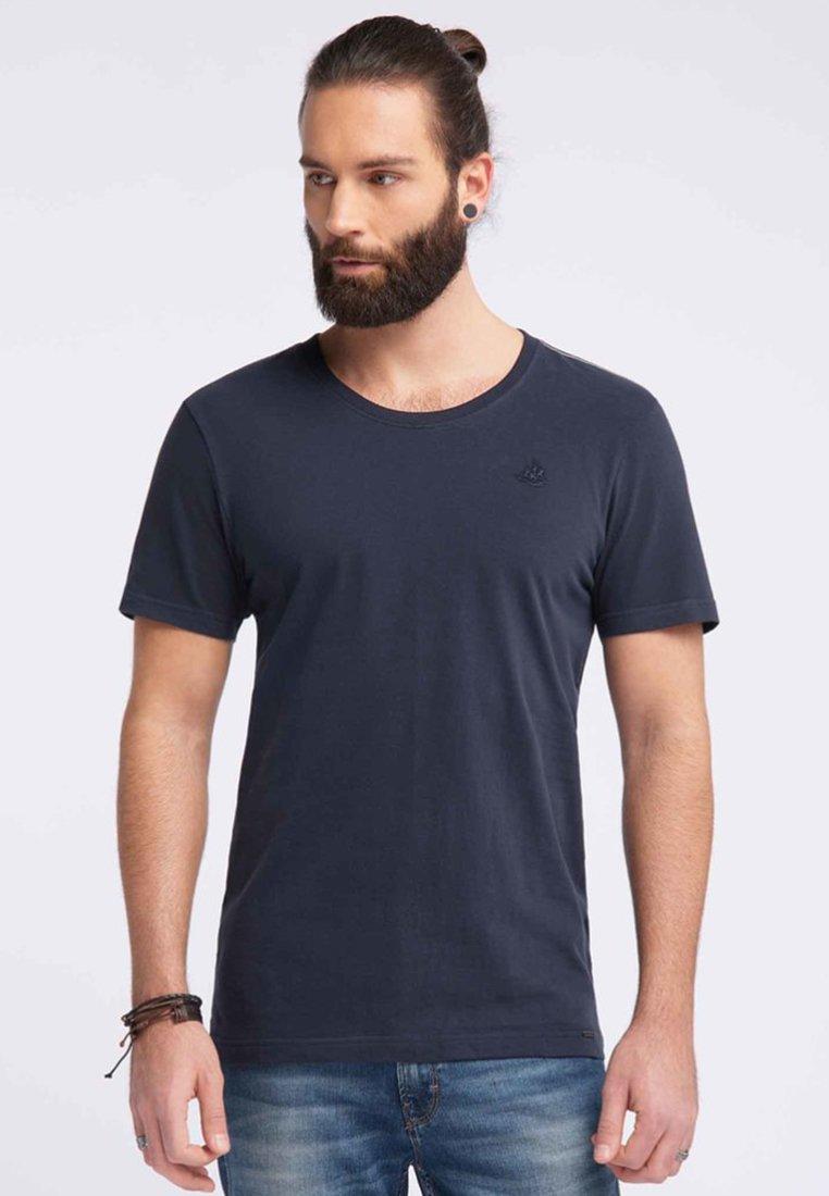 Dreimaster - DREIMASTER  - Basic T-shirt - dark blue