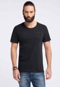 DreiMaster - DREIMASTER  - T-shirt basic - black - 0