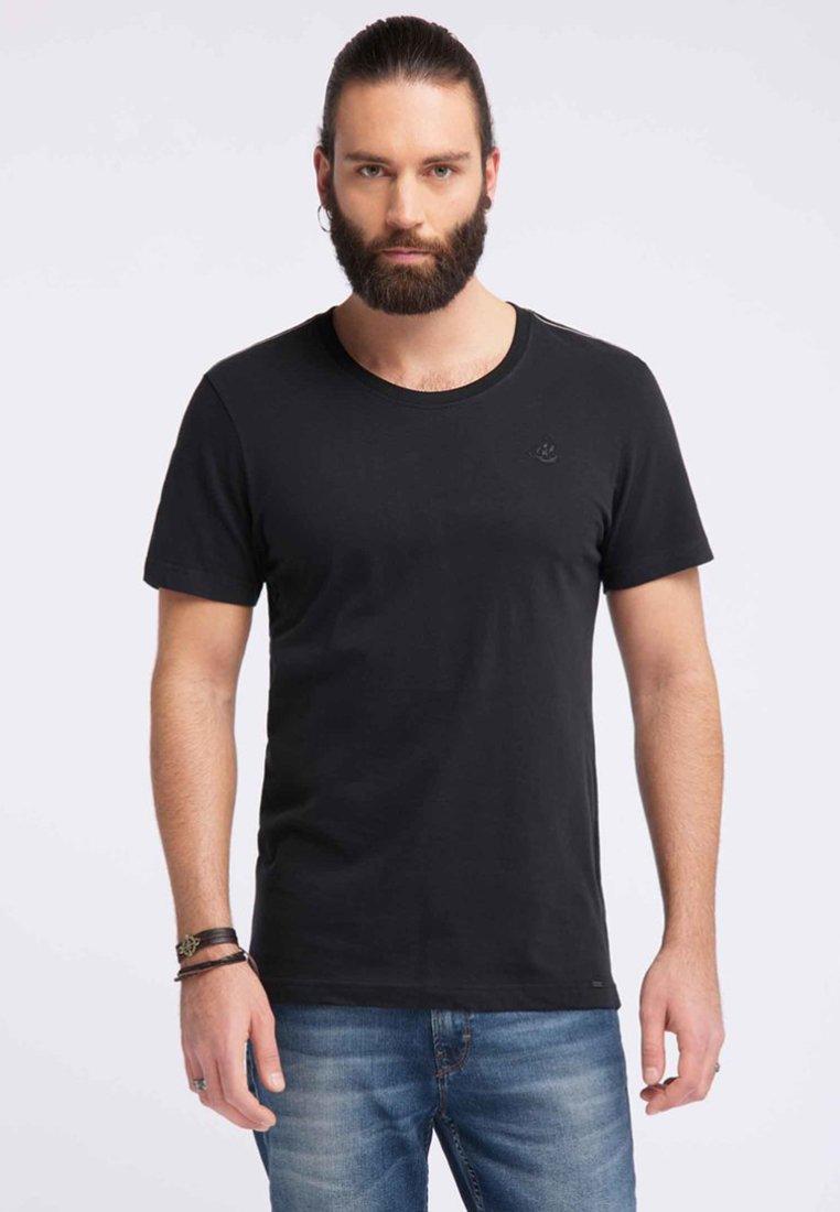 DreiMaster - DREIMASTER  - T-shirt basic - black