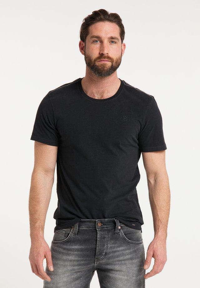 DREIMASTER T-SHIRT - Print T-shirt - schwarz
