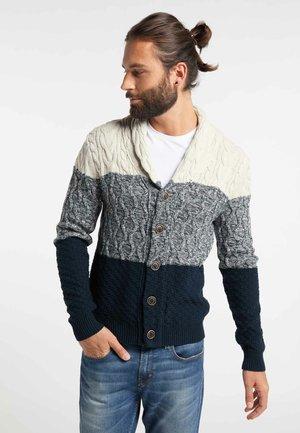 Chaqueta de punto - wool white melange