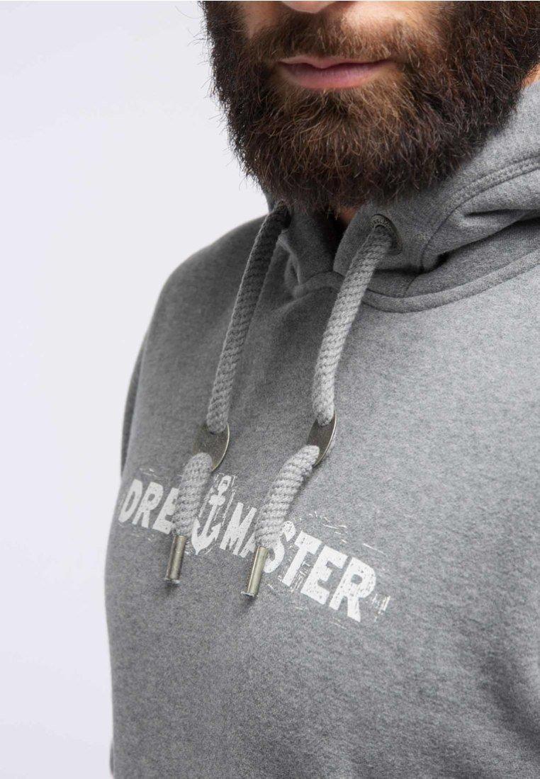 DreiMaster Sweat à capuche - grey melange