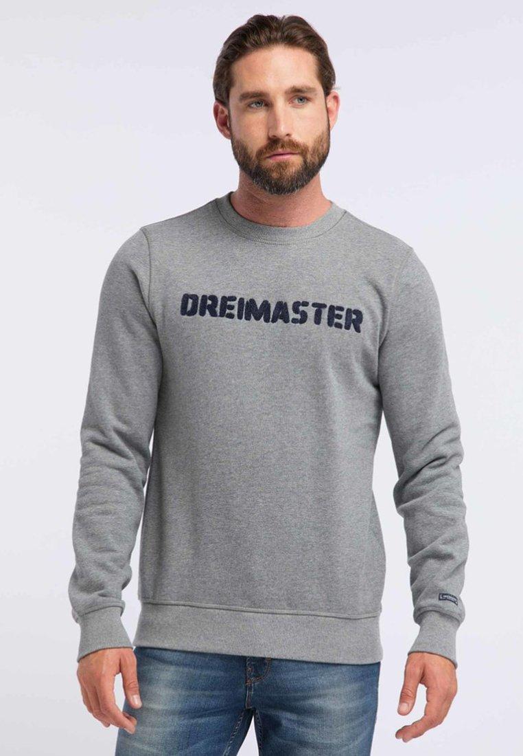 Dreimaster - Felpa - mottled grey