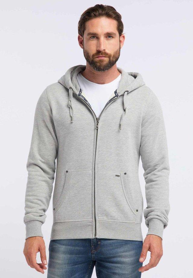 Bluza rozpinana - light grey melange