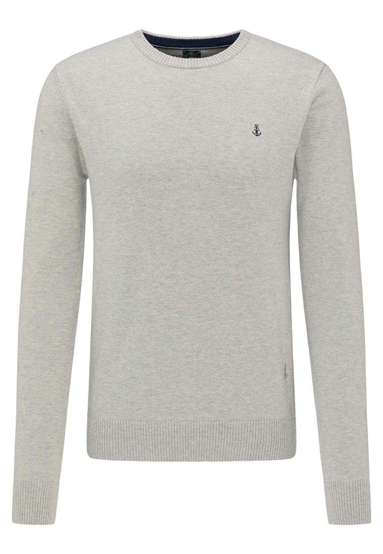 DreiMaster Pullover - light grey melange
