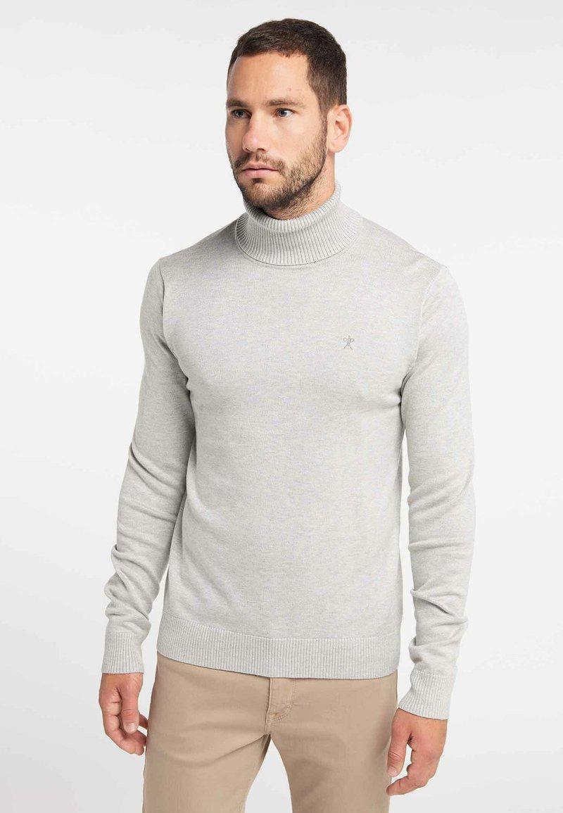 DreiMaster - Pullover - light grey melange