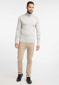 DreiMaster - Pullover - light grey melange - 1